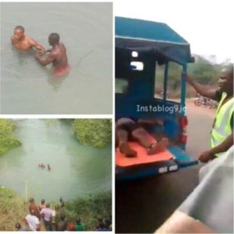 download2 GUO Bus Plunged Into The River, 3 Rescued, Others Feared Dead (Video)