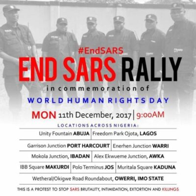 dqcgw8mvoaako1t - #EndSARS: See The Date For The Nationwide Rally Against #SARS Brutality In Nigeria (Pic)