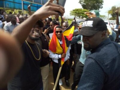 dqxyhh xkaajnje - Wizkid Arrives In Uganda Ahead Of Much Anticipated Concert (Photos,Video)