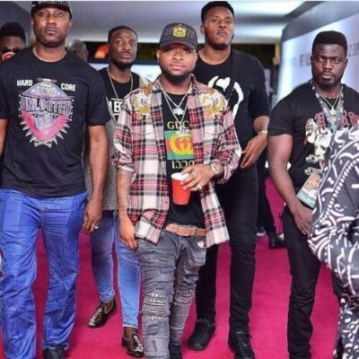 drjmankwsaakhty - Davido And His DMW Crew Arriving #TheFalzExperience Last Night (Photo)
