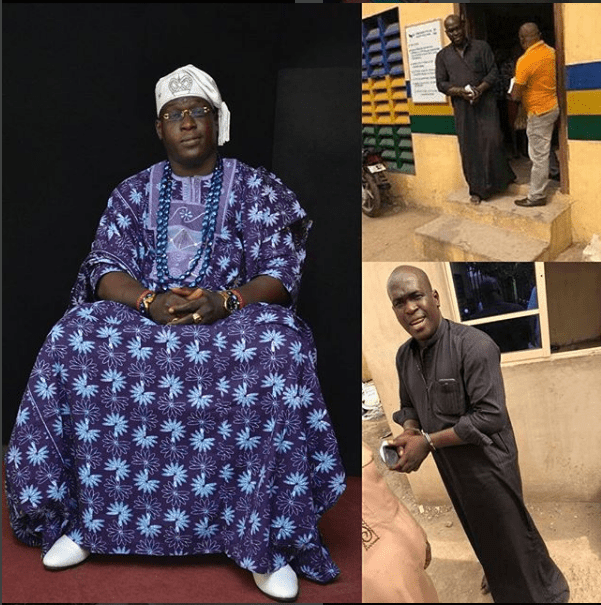 screenshot 51 - Man Parading Himself As A king, Arrested In Lagos (Photos)