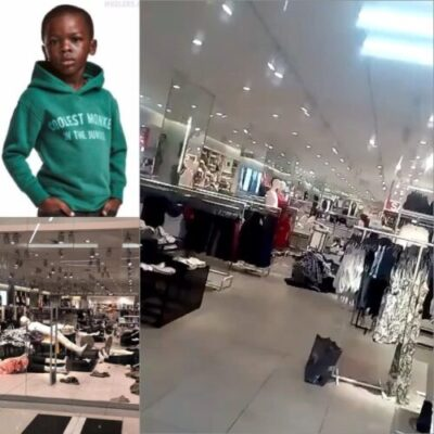 download 21 - Racist Hoodie: H&M Store Vandalized In South Africa (Video)