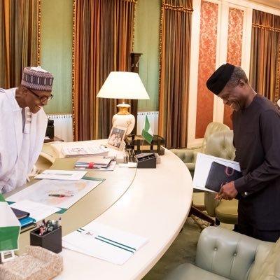 yyopjagv 400x400 - President Buhari, Saraki And Dogara In Closed Door Meeting At Aso Rock