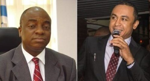 Daddy Freeze Reacts To Bishop Oyedepo's $40m Private Jet Parked At His Hangar