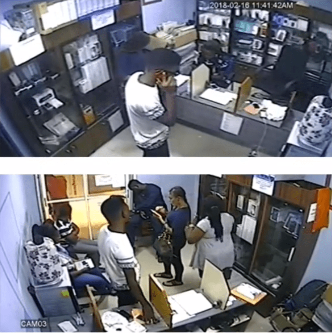 screenshot_53 CCTV Captures The Moment A Boy Stole An iPhone, At Shop In Computer Village (Video)