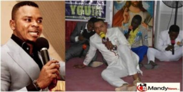 obinim Members Of Angel Obinim's Church Openly Confessing Their Sexual Sins (Video)