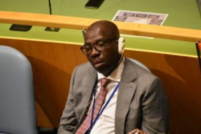 dsc_0126-696x464 Governor Godwin Obaseki Of Edo State Sleeping At UN General Assembly (Photos)