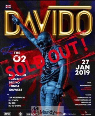 49907098 1223616344470565 563130538059382793 n1768601575 - Live Updates From Davido 02 Arena Concert In London