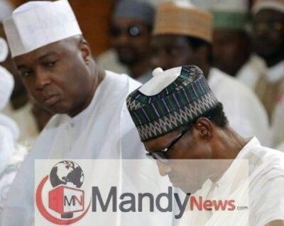 8465931 bukolasarakiwithpresidentbuhari jpeg58ae9ac20dec98369c61912e856a328f - President Buhari's Government Is Corrupt – Bukola Saraki