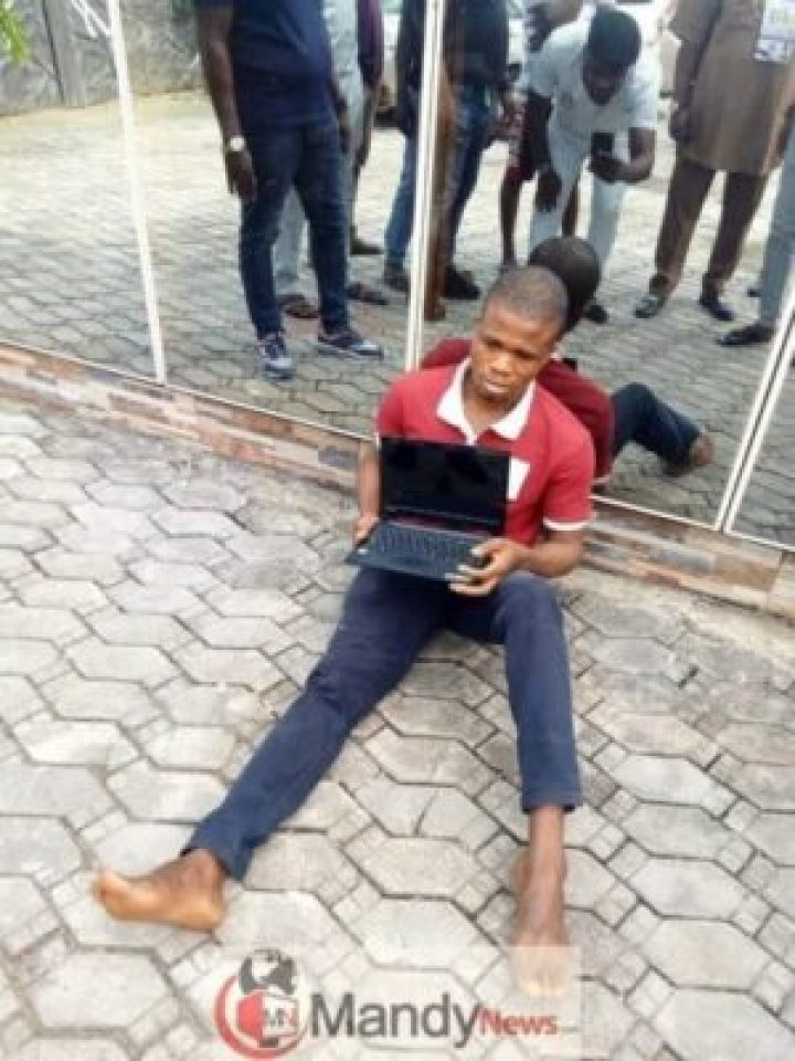 , Man Arrested After Buying N150K Worth Of Stolen Laptop For N5K (Photo)