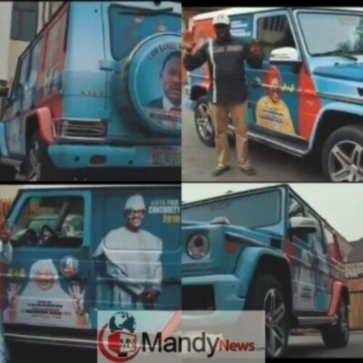 8472472_cymera20190111000944_jpeg37e886401d5d359d2ea8985025c8cd871678236761 Daniel Amokachi Converts His G-Wagon Into A Campaign Vehicle For APC
