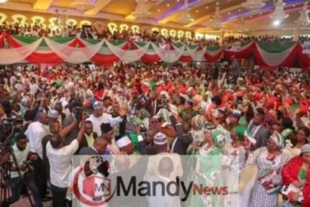 8478133_fbimg1547227798995_jpegd4b6a9c0aca6d69955c5bafdb4c587b21516436685 Photos From PDP National Women Conference In Abuja Today