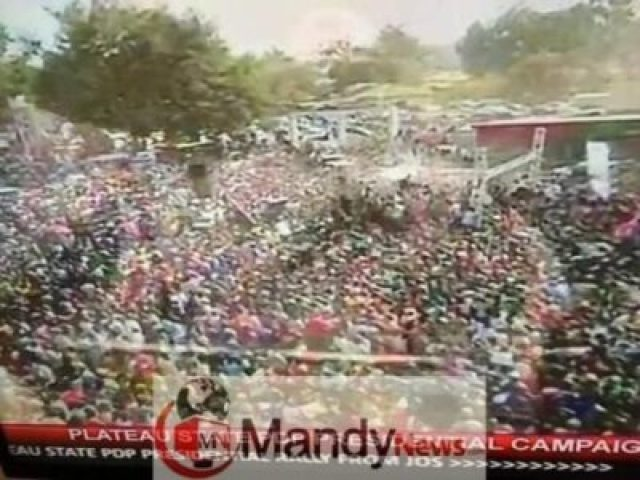 PDP Presidential Campaign Rally In Jos, Plateau State (Photos)