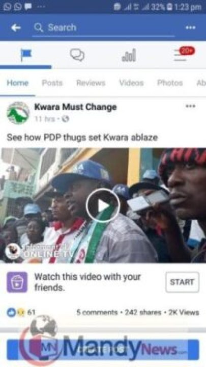 8496670_screenshot20190114132310facebook_jpegd287700e58e8145110c78204783af7b31804857743 Video Of Victim Of Suspected PDP Thugs Attack In Kwara (Graphic)