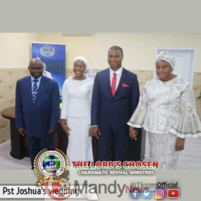 8599866 fbimg1548526225364 jpegf0695211c448d1bb2b0841c84067382d654904331 - Lord Chosen Pastor Lazarus Muoka's First Son Weds (Photos)