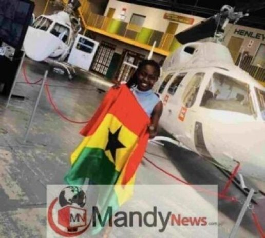 IMG_20190110_063605-516x464 Meet Ghana's Youngest Female Pilot, Audrey Esi (Photos)