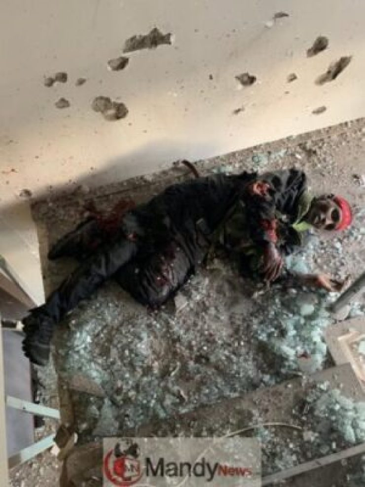 down1595734056 Here Are Photos Of The Bodies Of The Terrorists Killed In Riverside Attack