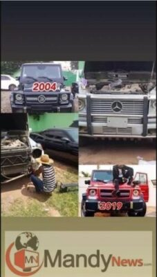 g wagon2709620222 - Young Ghanaian Millionaire, Ibrah One Exposes Shatta Wale Over Fake G-Wagon Purchase