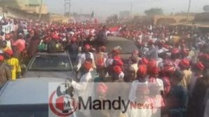 8665461 fbimg1549209736083 jpeg4a2e5662d63679e27799b68502cb31e9 300x169 - See Massive Crowd That Welcomed Kwankwaso In Dala Local Government In Kano (Photos)