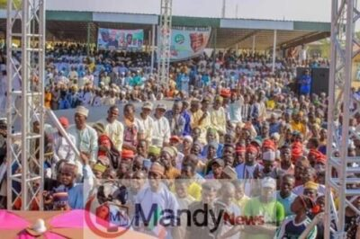 8673515 fbimg1549299063447 jpeg186977a5df5046ee66d22921af03447e36981021 - Pictures From PDP Presidential Campaign Rally In Zamfara State