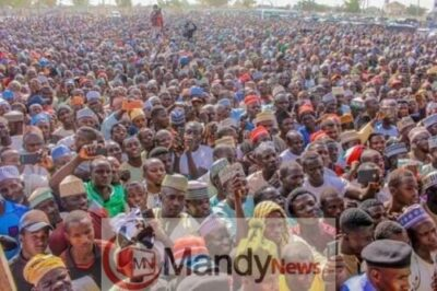 8673517 fbimg1549299018301 jpegf46f37e99ef7dc636905034f6d5296c81894857917 - Pictures From PDP Presidential Campaign Rally In Zamfara State