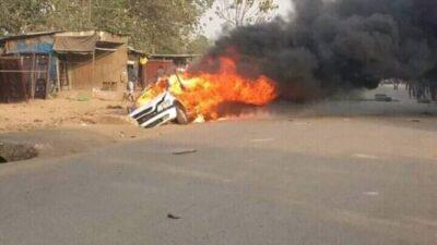 8721161 cla1 jpgac4d17eb60e460aef5bb0621e6b659971806774719 - APC Supporters Set Peter Obi's Convoy On Fire In Abuja (Video)