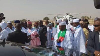 8725104 img20190210115738 jpeg194e0c83d63749db4aa1d43ccea54c24190458571 - Buhari Arrives In Zamfara, For His Campaign Rally
