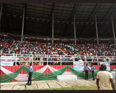 8734715 screenshot20190211122426 jpeg031ce990fa6e97e2c83ab275d98ac8a8518251213 - Photos Of Crowd Waiting For Atiku At His Rally In Rivers