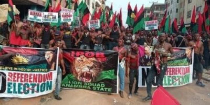 8738786_1_jpgf3ccdd27d2000e3f9255a7e3e2c48800667356064 Photos From IPOB Election Boycott Campaign In Anambra Today