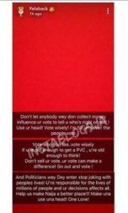 8748468_x7fktkpturbxy82mwq1ymjlztgzztk5mtvmyzvhywi2yziyzju4odmzni5qcgeslqlnaxqawsovagdnavjcww_jpegbd21341238f4bffc36cff2240f406202-180x300 Wizkid Advises Against Voting Someone Because A Paid Celebrity Endorsed Them