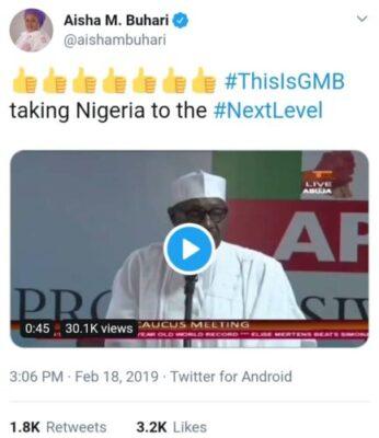 """8801862 img20190218wa0020 jpege91bf786d6f79f87edf825caff76d70a - """"Jungle Justice"""": Buhari's Threat To Ballot Box Snatchers Got Nigerians Talking"""