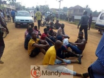 8844899 whatsappimage20190223at10 02 11am489x367 jpeg jpeg44d39084d9c66ba5684af9e160fdefc0 - 10 Youths Arrested For Attempt To Snatch Ballot Box In Abia (Photos)