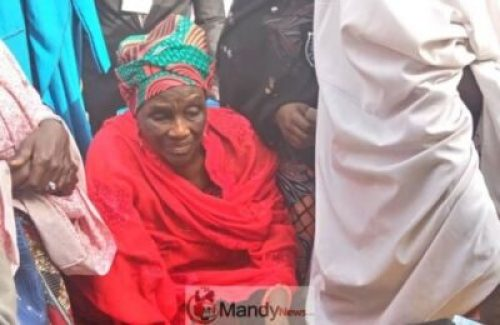 8845071_buharissister_jpeg9659f79df1e772e809ad7519aa057983 #NigeriaDecides: President Buhari's 84-Year-Old Sister Votes (Photo)
