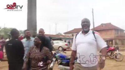 8846123 img20190223wa0017 jpeg2cab85a9e68e44ea551f71e402a0a6d0 - See The Moment Senator Dino Melaye Arrived At His Polling Unit As People Rushed Him