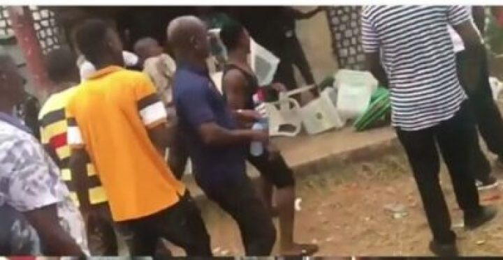 8855061_img20190224183420855_jpeg648cd18814293de90d99b8972cae1d16 Thugs Attack INEC Collation Center In Edo, Destroy Election Materials (Photos)