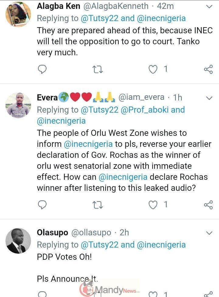 """8863307_img20190225201504396_jpeg4e67a197e19ca1ddfcf1af1414dbbe09 Leaked Audio: """"I'm Calling This Result Under Duress"""" - Prof. Declares Okorocha Winner"""