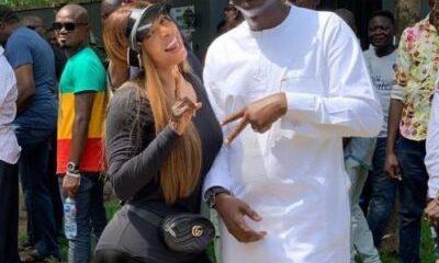 Toke Makinwa And Babajide Sanwo-Olu