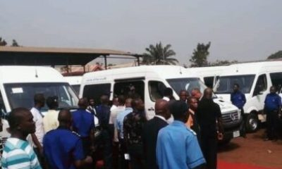 IMG 20190219 181059 782 - Gov Okowa Rebrand Delta Line, Commissions Brand New Equipped Vehicles (Photos)