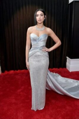 dua lipa attends the 61st annual grammy awards at staples news photo 1097523720 154984548776408961 - All Grammys 2019 Red Carpet Celebrity Dresses & Looks (Photos)