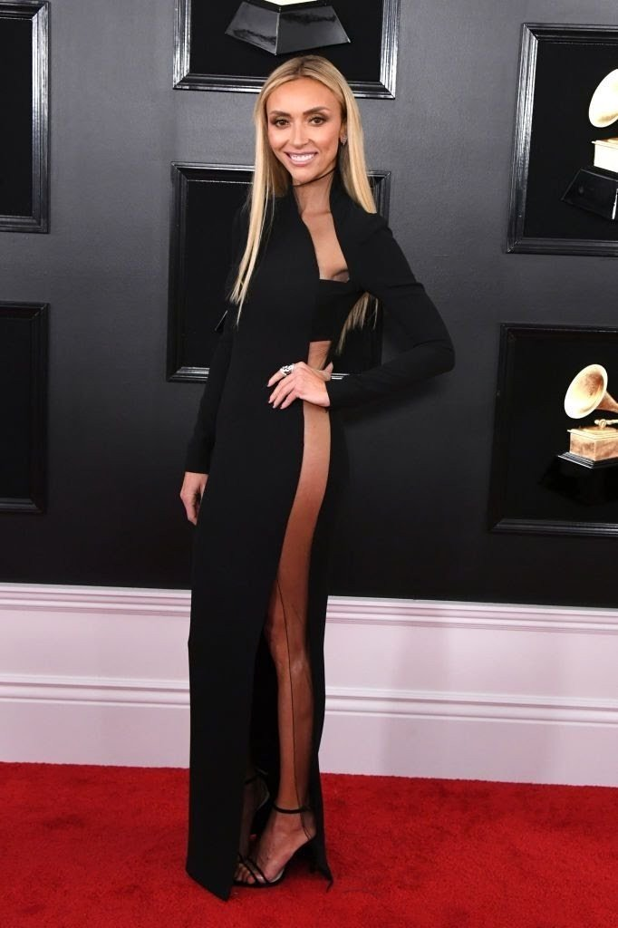 giuliana rancic attends the 61st annual grammy awards at news photo 1128763916 15498397161465642580 - All Grammys 2019 Red Carpet Celebrity Dresses & Looks (Photos)