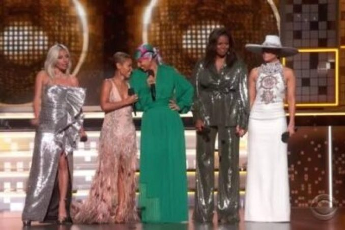 images-4-21206781321. Michelle Obama Makes Surprise Grammy Award Appearance