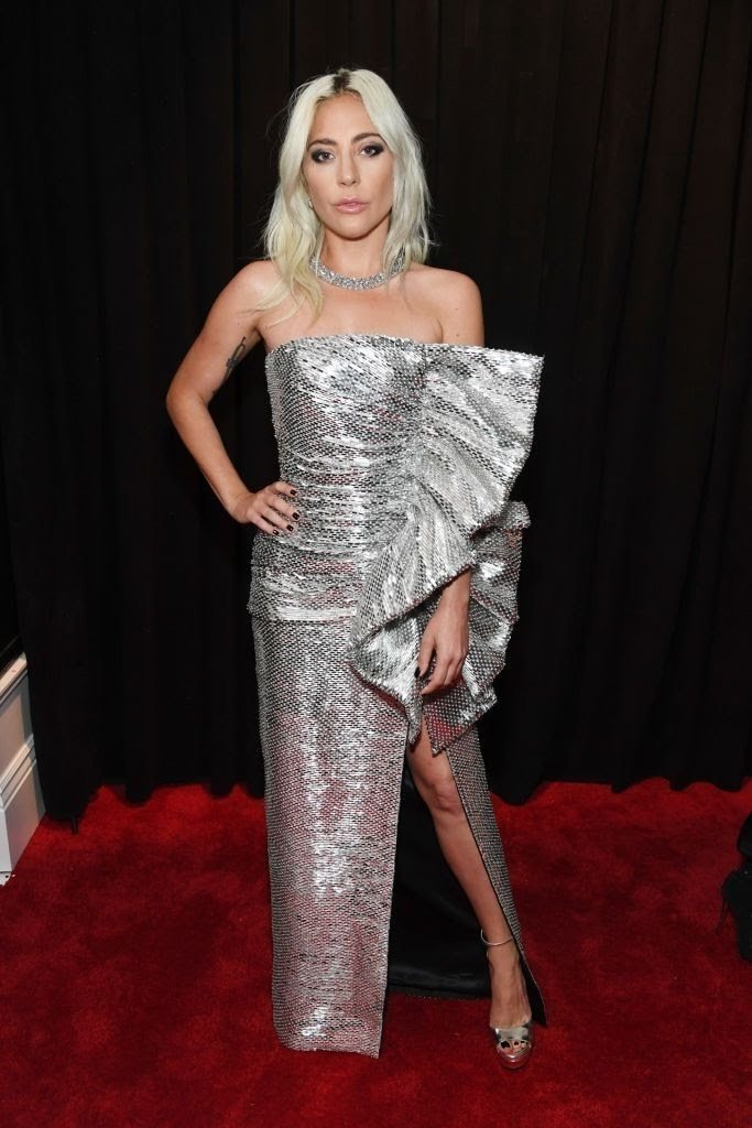 lady-gaga-attends-the-61st-annual-grammy-awards-at-staples-news-photo-1097530252-1549846949308272428 All Grammys 2019 Red Carpet Celebrity Dresses & Looks (Photos)