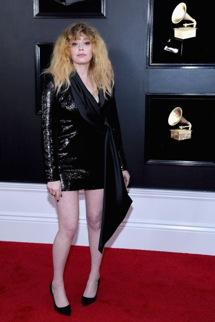 natasha lyonne attends the 61st annual grammy awards at news photo 1097526234 15498463581497712471 - All Grammys 2019 Red Carpet Celebrity Dresses & Looks (Photos)