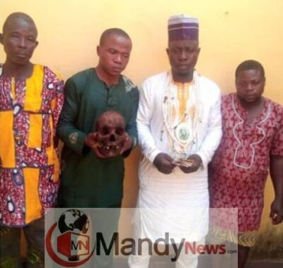 skull miniing - Islamic Cleric, Three Others Arrested With Human Skull In Ogun State