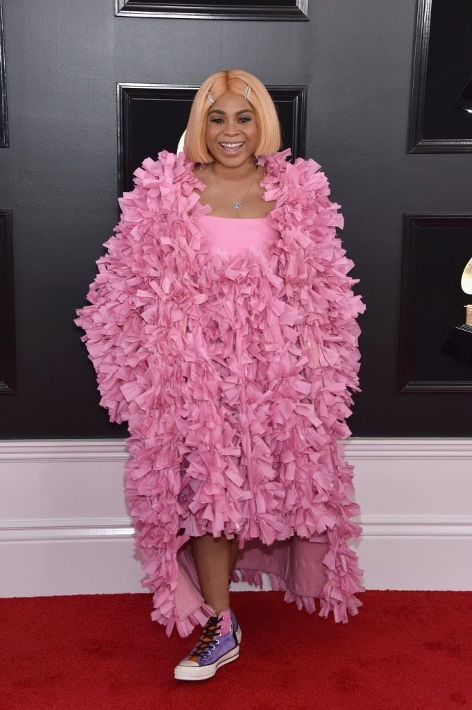 tayla-parx-attends-the-61st-annual-grammy-awards-at-staples-news-photo-1097510326-15498426072116343650 All Grammys 2019 Red Carpet Celebrity Dresses & Looks (Photos)