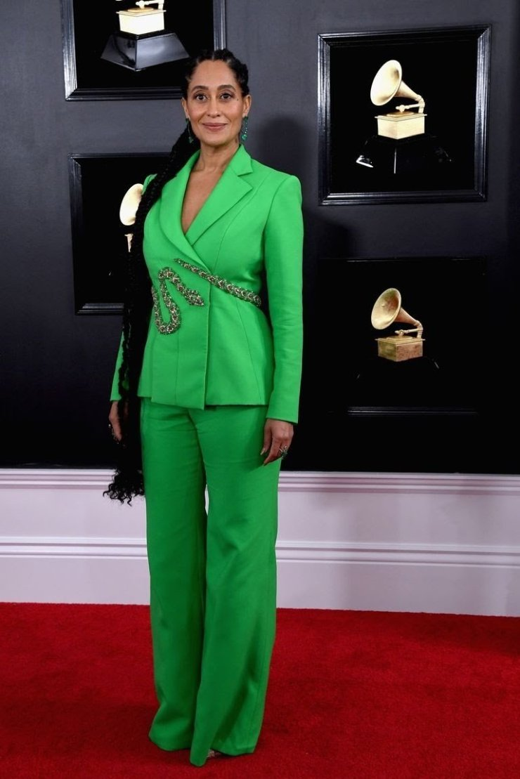 tracee-ellis-ross-attends-the-61st-annual-grammy-awards-at-news-photo-1097525876-15498463691546608272 All Grammys 2019 Red Carpet Celebrity Dresses & Looks (Photos)