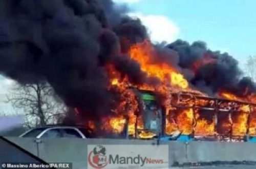 11271540-6834559-image-m-7_1553170505462 Senegalese Driver Hijacks School Bus With 49 Kids, 2 Teachers And Sets It Ablaze