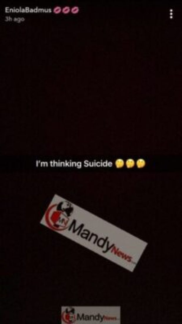 """1553373811494 """"I Am Considering Of Suicide"""" - Actress Eniola Badmus"""