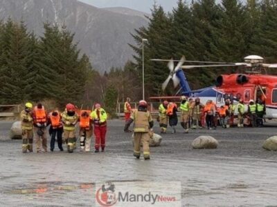18ea16ac7ecaf5bdca205a620c17805a - 1,300 Passenger Trapped In Norway Cruise Ship Rescued (Video, Pictures)