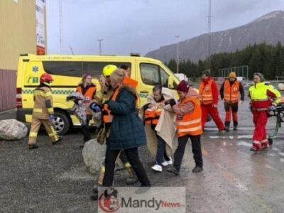 24ddd549d3ff54fb0c4648098b735c16 - 1,300 Passenger Trapped In Norway Cruise Ship Rescued (Video, Pictures)